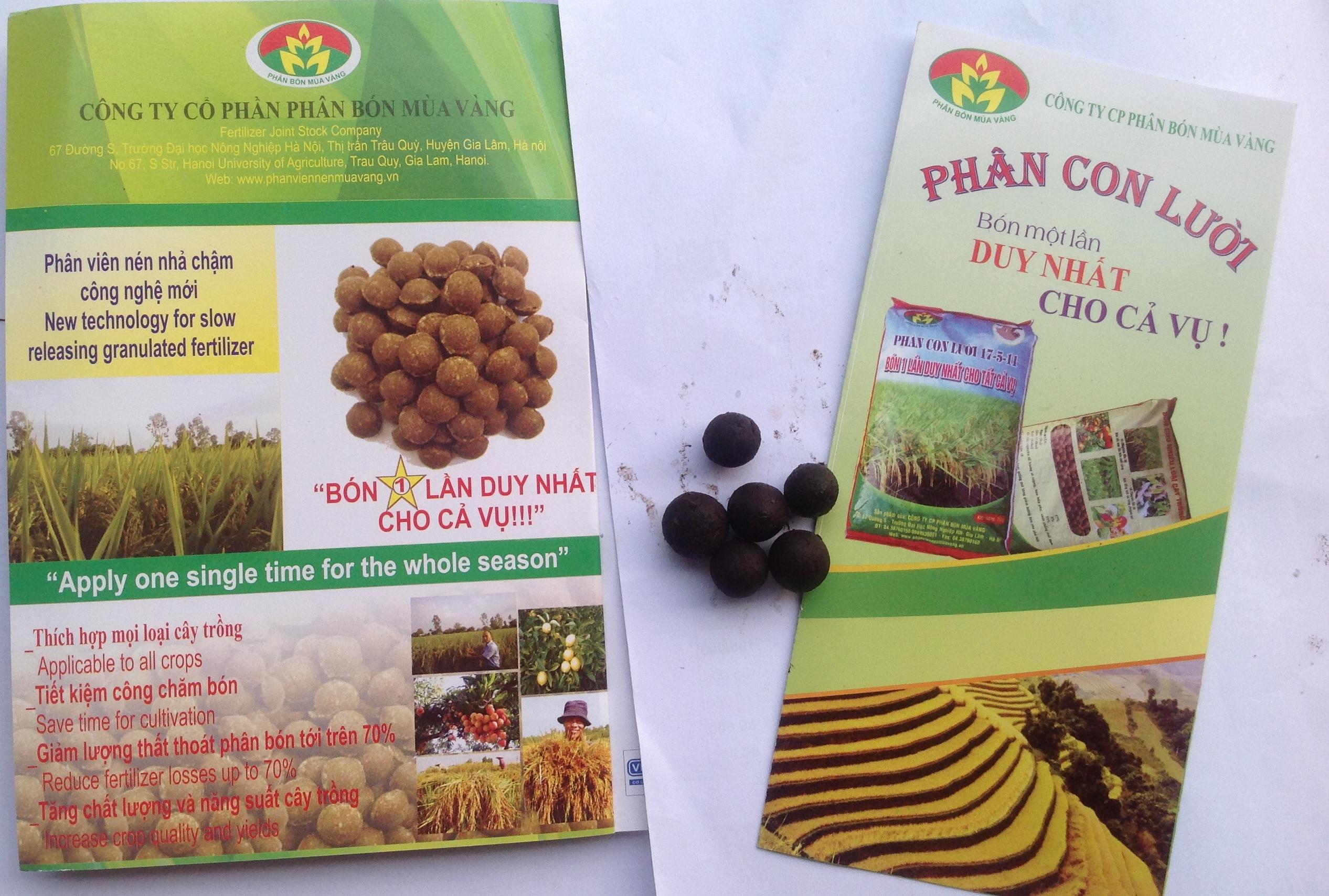 Sản phẩm phân nén Hữu cơ+ Vi lượng, với nhiều thành phần giúp cây trồng phát triển tốt, năng suất cao